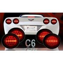 C6 Corvette  Max Red LED Tail Lights