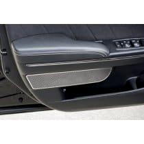 2011-2015 Dodge Charger Carbon Fiber Front Door Badges 2Pc