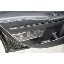 2011-2015 Dodge Charger Carbon Fiber Rear Door Badges 2Pc