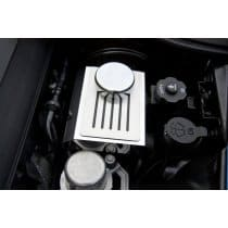 C7 Corvette Brake Master Cylinder Cover Polished w/Ribbed Slots Automatic
