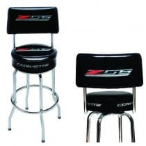 C7 Corvette Z06 Pub Stool With Back