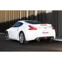 Nissan 370Z Akrapovic Stainless Steel Evolution Exhaust