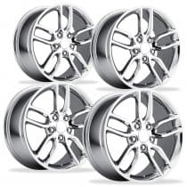 Corvette C7 Stingray Z51 Wheels - Chrome (Set)