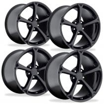 C6 Corvette  Grand Sport Style Wheels - Black Set