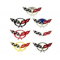1997-2004 C5 Corvette Domed Air Bridge Decal Emblem Airbridge