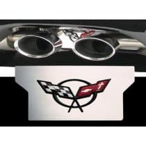 Corvette C5 Stainless Steel Exhaust Enhancer Plate