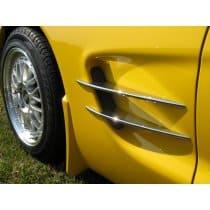C5 Corvette Billet Aluminum Side Spears Kit