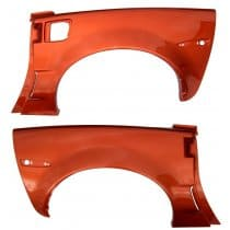 C6 Corvette Body Color Painted Z06 Rear Quarter Panels For Coupe or Convertible