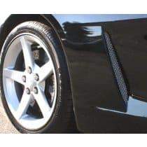 C6 Corvette Stainless Side Vent Screens