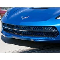 C7 Corvette Painted Front Stainless Steel Grille Overlay