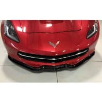 C7 Corvette Carbon Fiber Front Splitter - Z06 Like