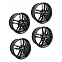 C7 Corvette Z51 Style Black Wheels (Set)