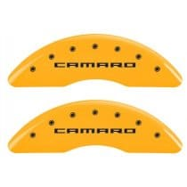 2016-2017 6th Generation Camaro Caliper Covers Yellow w/RS,SS or Camaro Logo