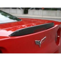 C6 Corvette Hydro Carbon Fiber Z06 style rear Spoiler