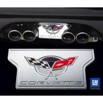 Corvette Exhaust Plate Commemorative Edition