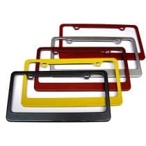C7 Corvette Rear License Plate Frame - Painted Any Color
