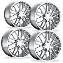 Corvette C6 ZR1 Wheel - Chrome (Set)