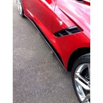 C7 Corvette Side Skirts Package Stage 1 - Painted or Carbon