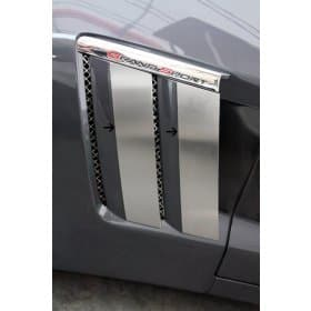 C6 Corvette Grand Sport Fender Trim Plates 4pc