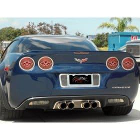 C6 Corvette  5th Brake Light - C6 Flags