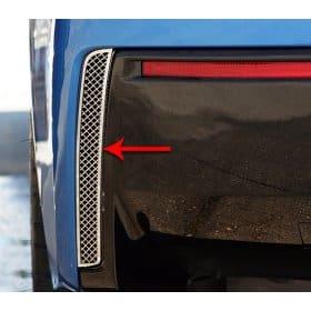 C7 Corvette Rear Valance Vent Laser Mesh Grilles