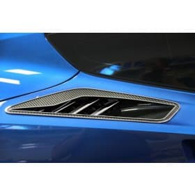 C7 Corvette 10pc Rear Quarter Panel Vent Carbon