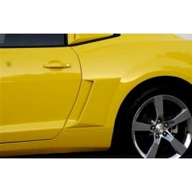 2010-2015 Camaro Xenon Pre-Painted Body Color Fender Scoops