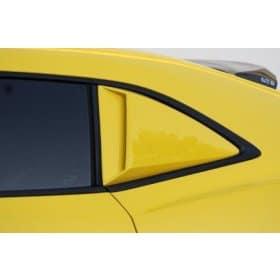 2010-2015 Camaro Xenon Pre-Painted Quarter Window Scoops