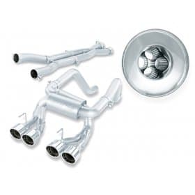 C6 Corvette  Z06-ZR1 Exhaust Borla Multicore 140265 Cat-Back
