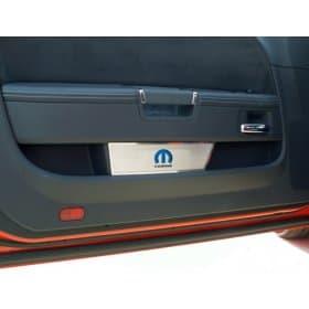 Dodge Challenger Door Badge Plates - Mopar M