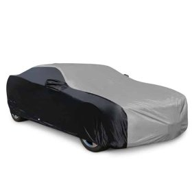 2010-2015 Camaro Ultraguard Car Cover - Indoor/Outdoor Grey/Black