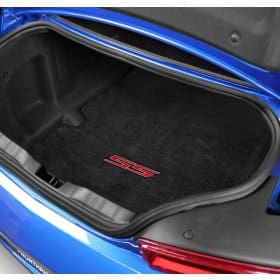 2016-2017 6th Generation Camaro SS RED Logo Trunk Compartment Cargo Mat