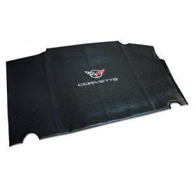 1997-2004 C5 Corvette Embroidered Top Bag Black w/ Silver C5 Logo