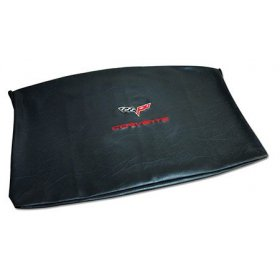 C6 Corvette Embroidered Top Bag Black w/ Red C6 Logo
