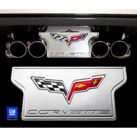 Corvette C6 Billet Exhaust Plate