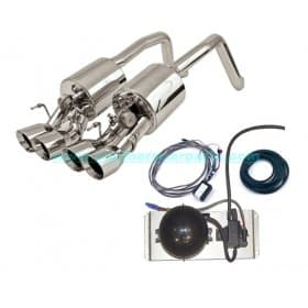 Corvette C6 Exhaust Billy Boat B&B Fusion Complete Kit