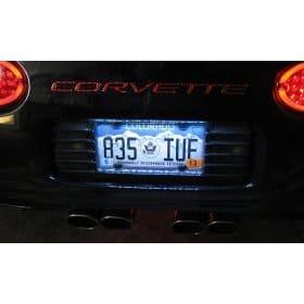 Corvette C5 LED License Plate Light Strip