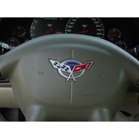 Corvette C5 Raised Steering Wheels Inserts