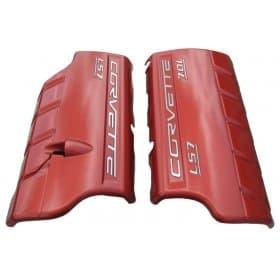 C6 Corvette  Z06 LS7 Painted Fuel Rail Covers