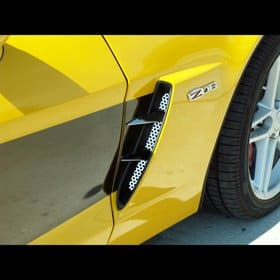 C6 Corvette  Z06 Polished Stainless Vent Spears