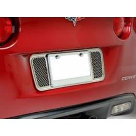 C6 Corvette  Stainless License Plate Frame