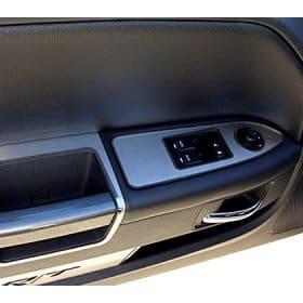 2008-2014 Dodge Challenger Door Stainless Arm Control Trim