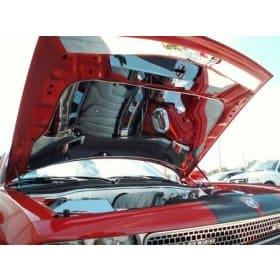 Dodge Challenger SRT 8 Polished Stainless Vented Hood Panel
