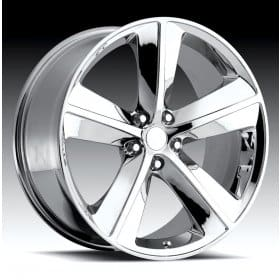 Dodge Challenger Chrome Alloy Wheels