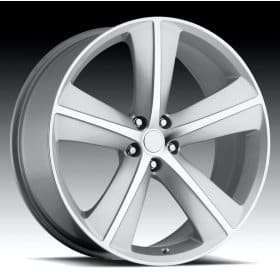 Dodge Challenger Silver Machined Alloy Wheels