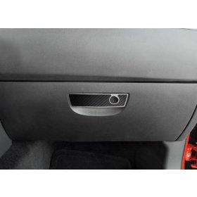 2008-2014 Dodge Challenger Carbon Fiber Glove Box Trim