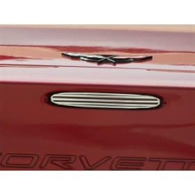 C6 Corvette 5th Brake Light Grille Billet Style