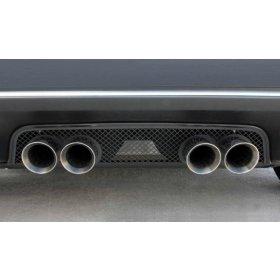 C6 Corvette  Black Stealth Exhaust Port Filler Panel