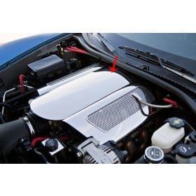C6 Corvette Plenum Cover Polished Low Profile 2006-2013 Z06 only