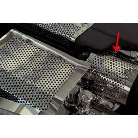 C6 ZR1 Corvette Alternator Cover - Perforated